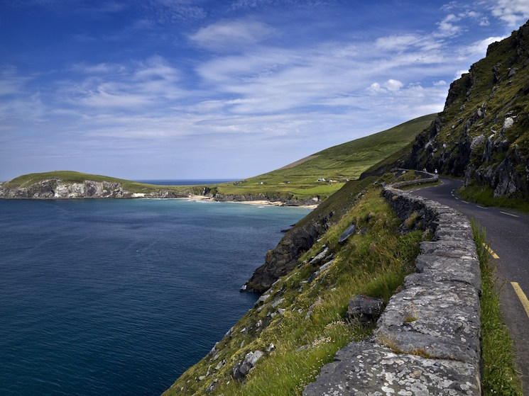Photo of the Atlantic coast in Ireland