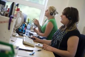 Call Center, The Open University, Flikr