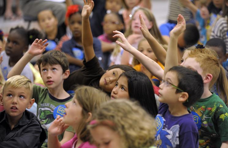 (Sara D. Davis/AP Images for Reading is Fundamental)