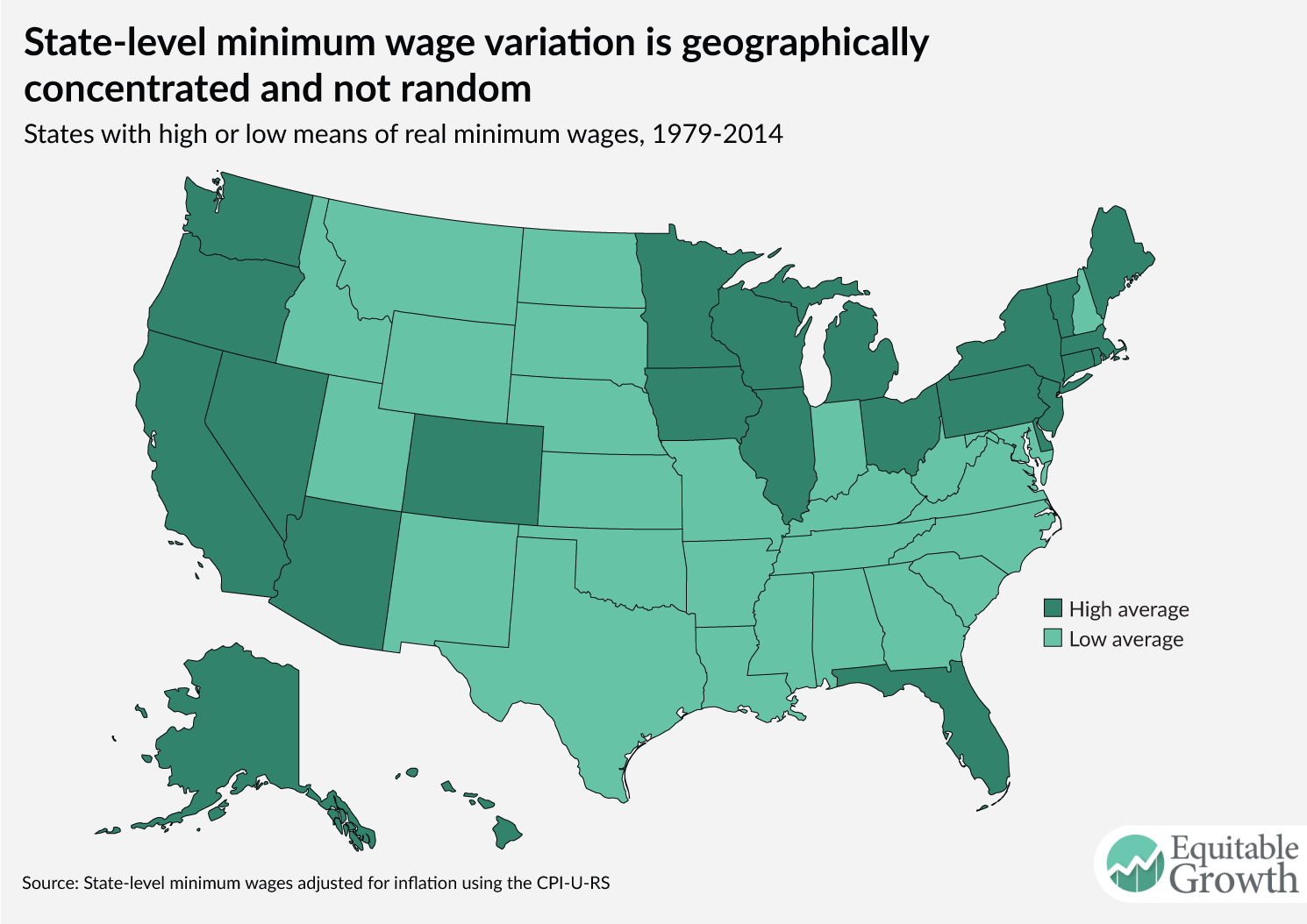 The Importance Of Raising The Minimum Wage To Boost Broadbased - Minimum wage us map