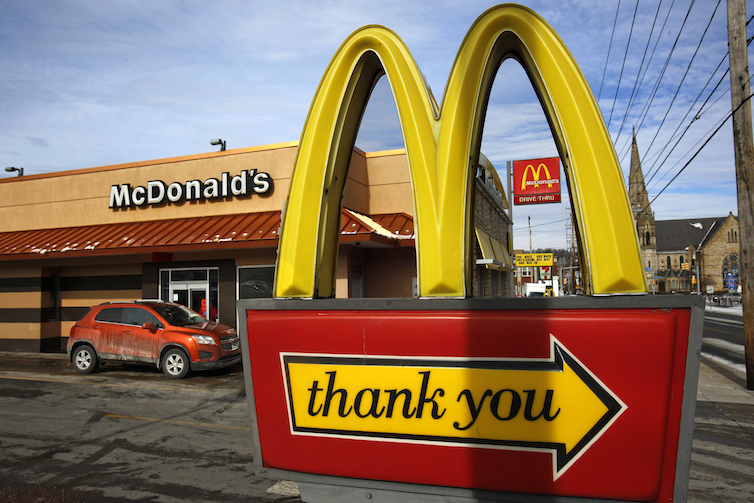 "McDonald's Corp. is involved in a case with the National Labor Relations Board regarding the firing of workers at their franchises for labor organizing under the ""Fight for Fifteen"" campaign to raise the minimum wage."